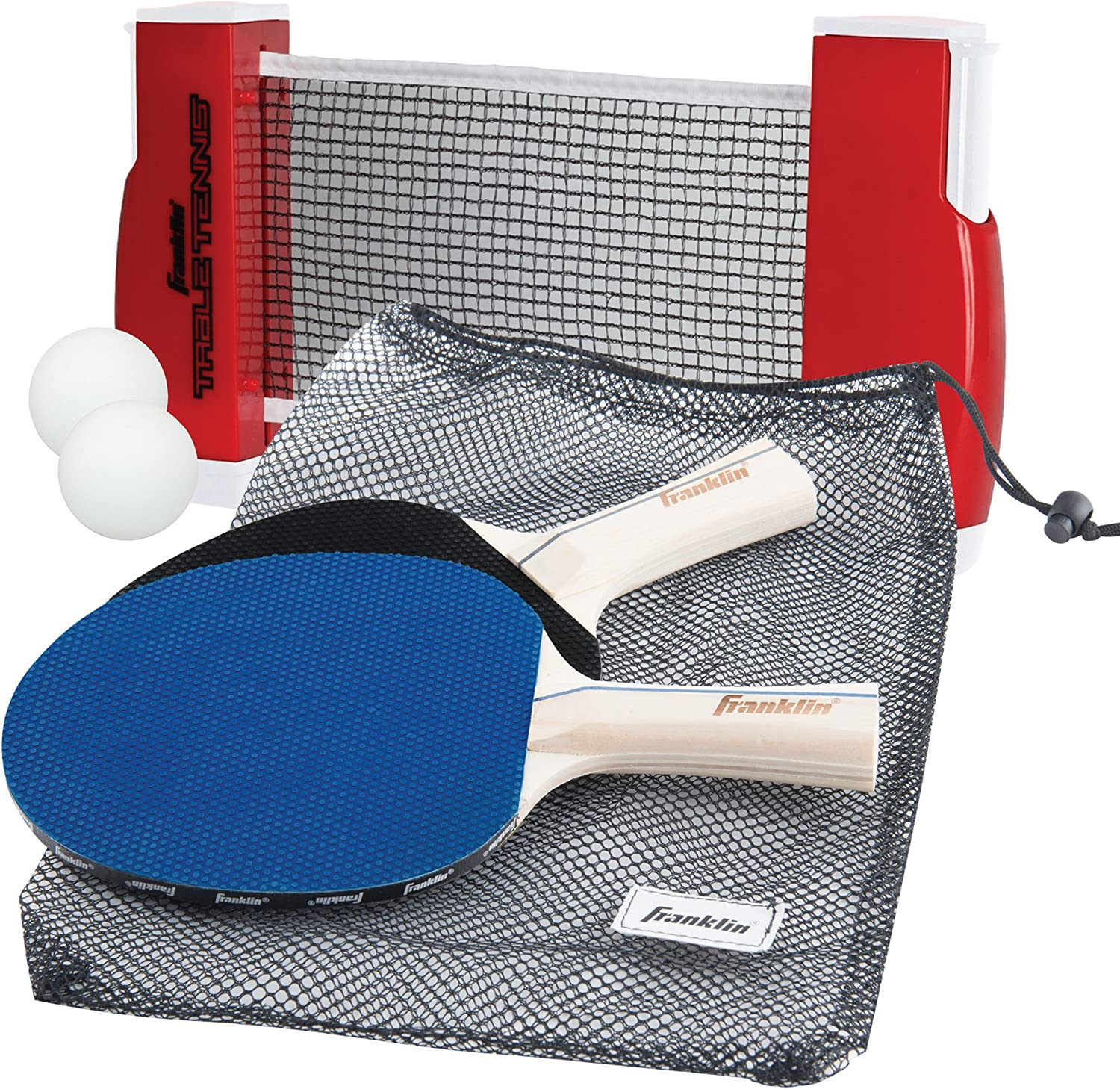 Franklin Sports Table Tennis To Go, Complete Portable Ping Pong Set : Table Tennis Sets : Sports & Outdoors