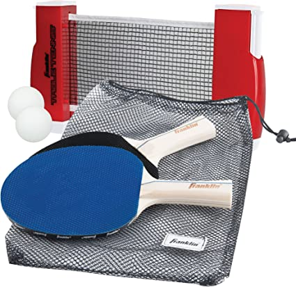 Franklin Sports Table Tennis To Go Complete Portable Ping Pong Set