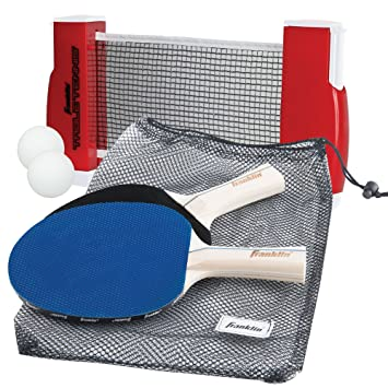 Franklin Sports Table Tennis to Go - Includes 2 Ping Pong Paddles Balls Net  sc 1 st  Amazon.com & Amazon.com : Franklin Sports Table Tennis to Go - Includes 2 Ping ...