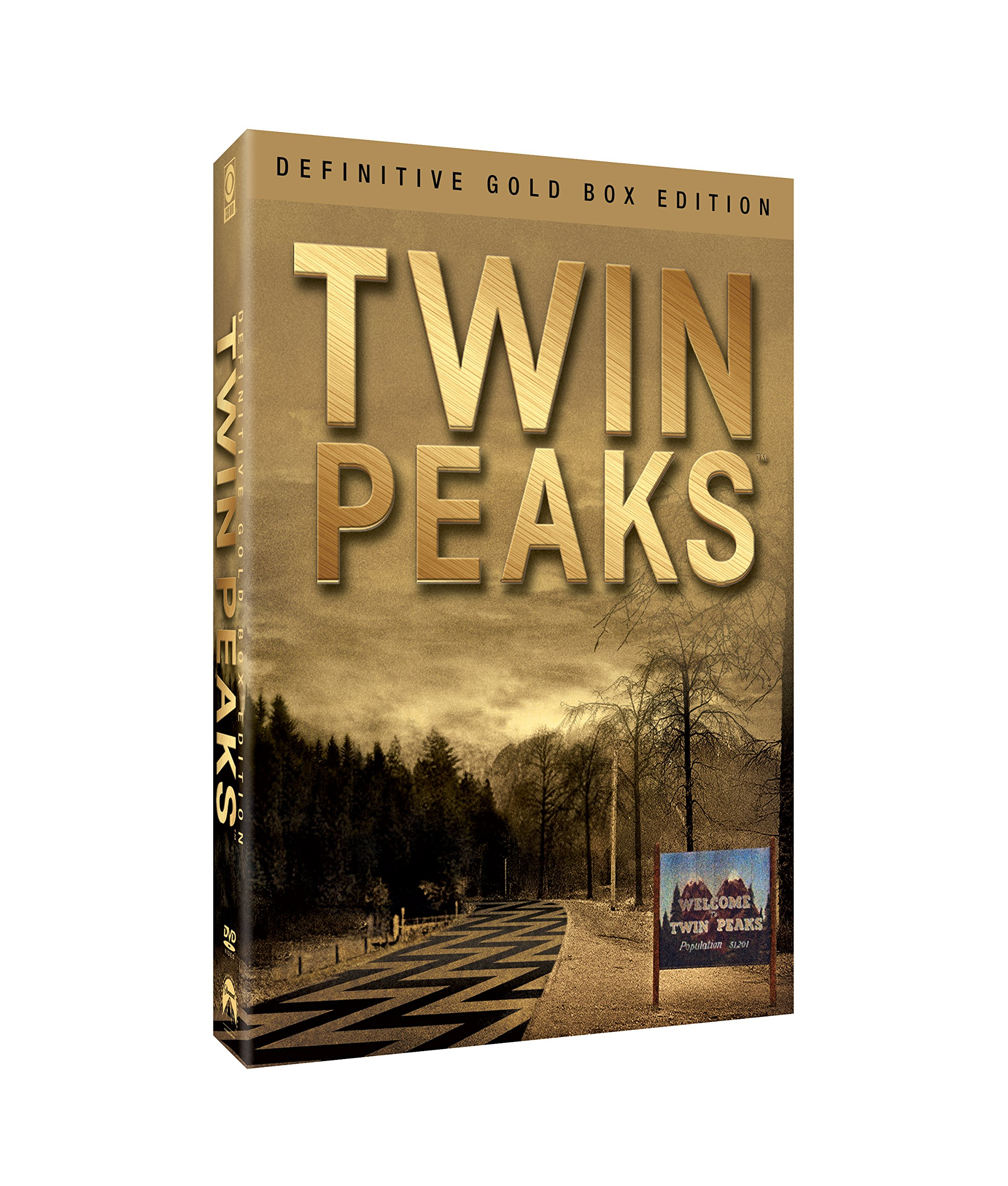 DVD : Twin Peaks: Definitive Gold Box Edition (Gold, Boxed Set, Full Frame, Slipsleeve Packaging, Repackaged)