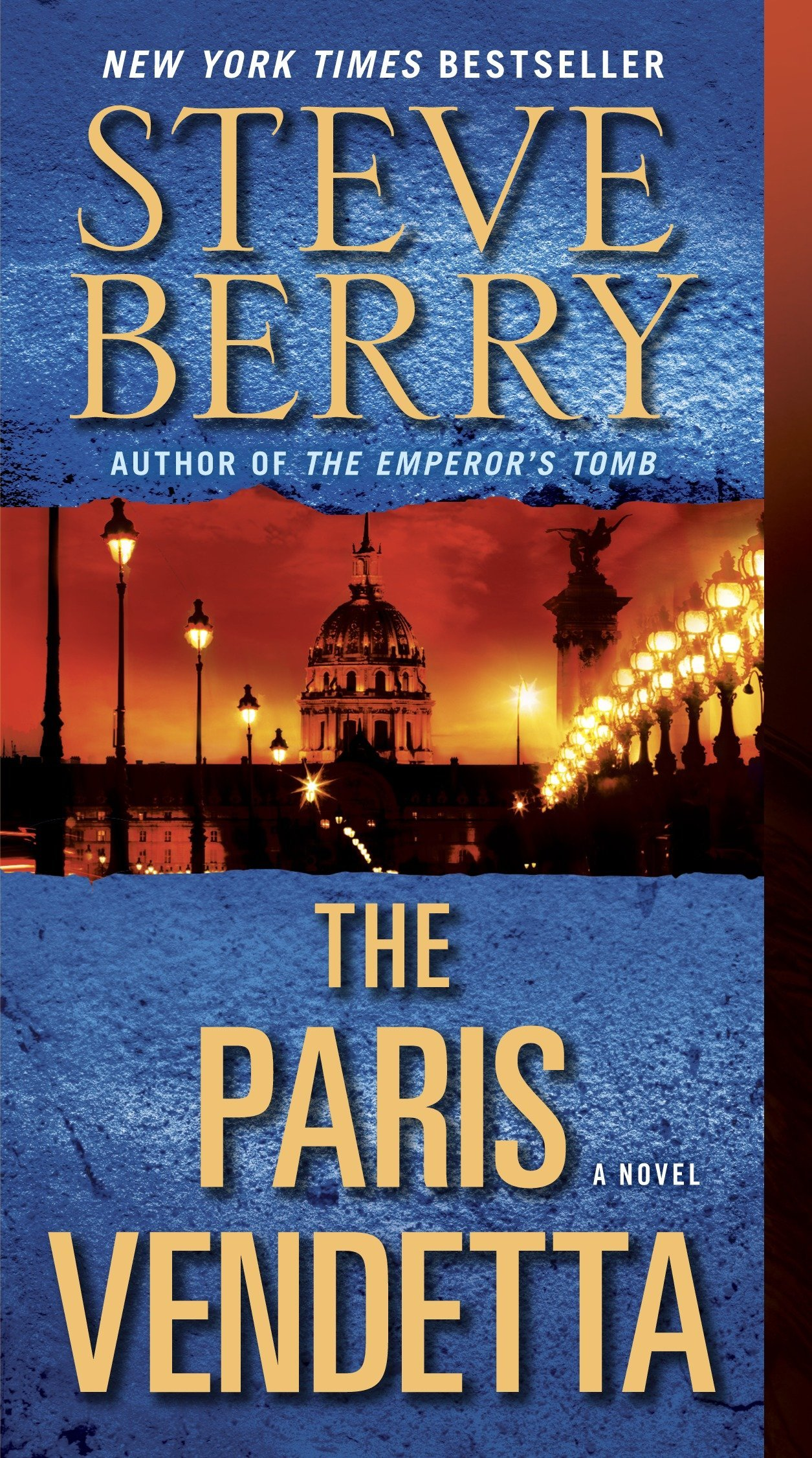 Amazon.com: The Paris Vendetta: A Novel (Cotton Malone) (9780345505484): Steve  Berry: Books