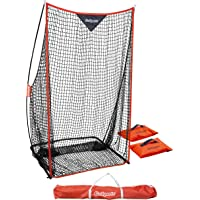 GoSports Football 7' x 4' Kicking Net - Sideline Practice for Punting or Place Kicks, Ultra-Portable Design with…
