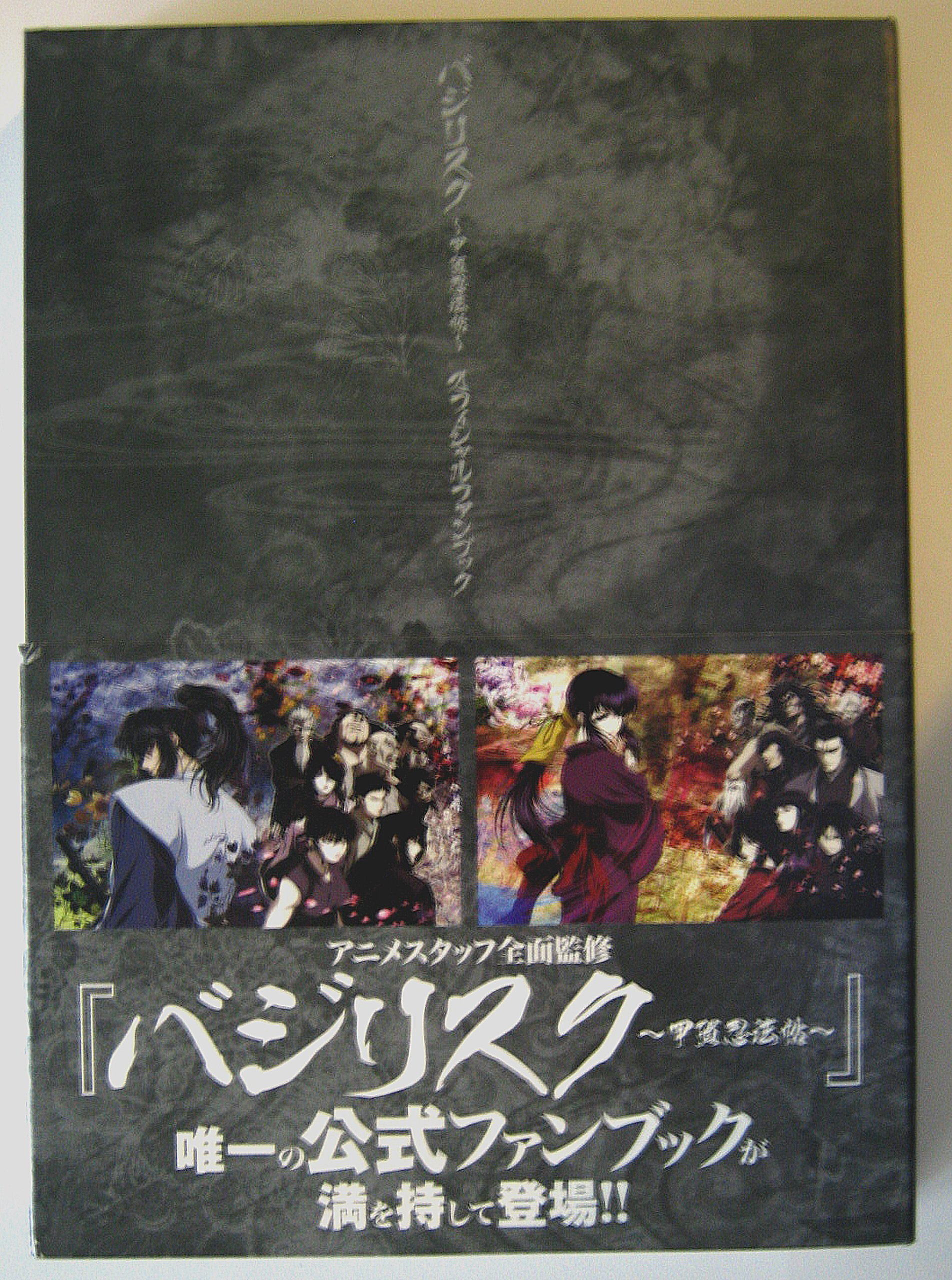 Basilisk: The Kouga Ninja Scrolls Official Anime Fanbook ...