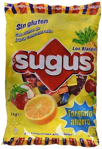 Sugus Caramelos Blandos Con Zumo De Fruta - 1000 gr