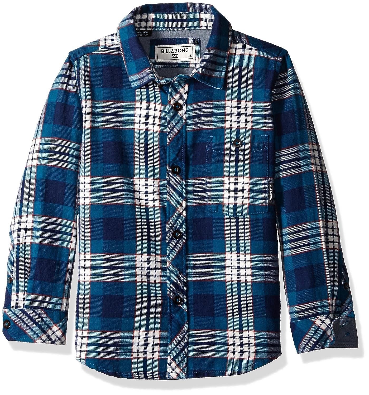7d8e814e8 Amazon.com: Billabong Boys' Jackson Long Sleeve Flannel Shirt: Clothing