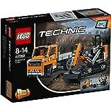 レゴ (LEGO) テクニック 道路工事トラック & ショベルカー 42060
