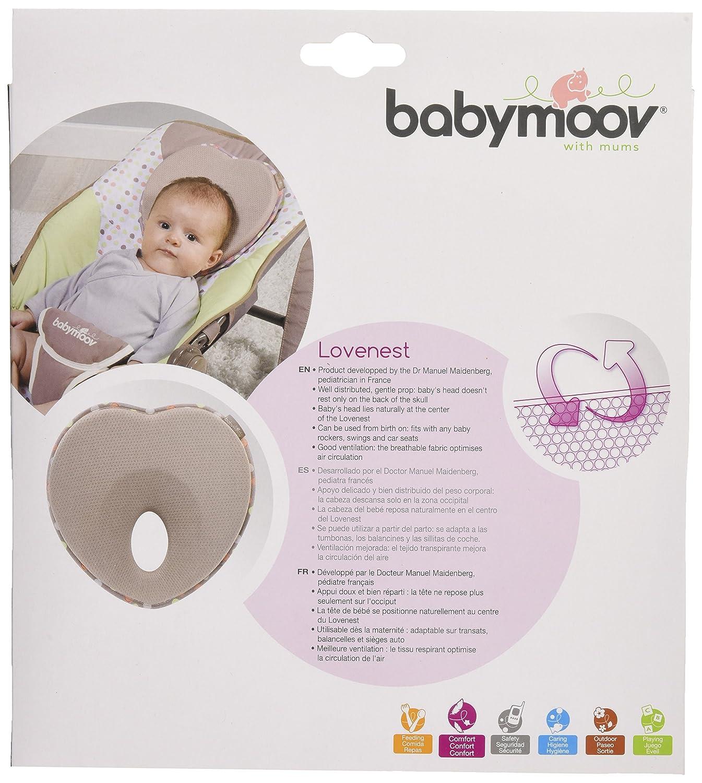 Amazon.com: Babymoov – lovenest- flat-head almohada, color ...