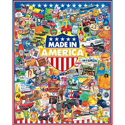 White Mountain Puzzles Made In America - 1000 Piece Jigsaw Puzzle: Toys & Games