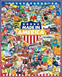 White Mountain Puzzles Made In America Jigsaw Puzzle (1000 Piece)