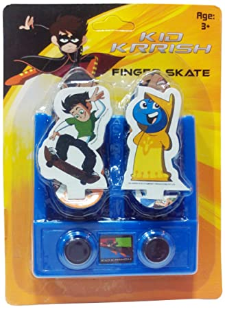 Impulse Kid Krrish Mini Skate Board Blue