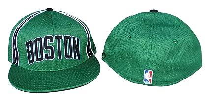 Amazon.com   Boston Celtics Fitted Size 7 5 8 Hat Cap - Team Colors ... fdd3ed347ed