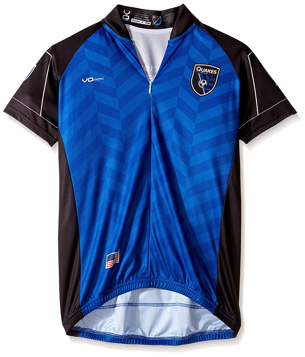 half off 058f2 422f4 Amazon.com : VOmax San Jose Earthquakes Primary Short Sleeve ...