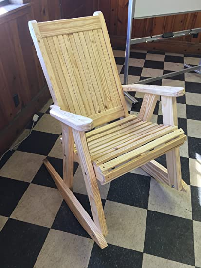 Peach State Extreme Duty Classic Rocking Chair
