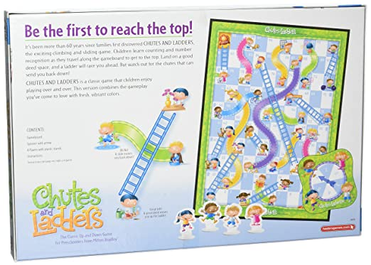 Amazon Chutes And Ladders Game Amazon Exclusive Toys Games