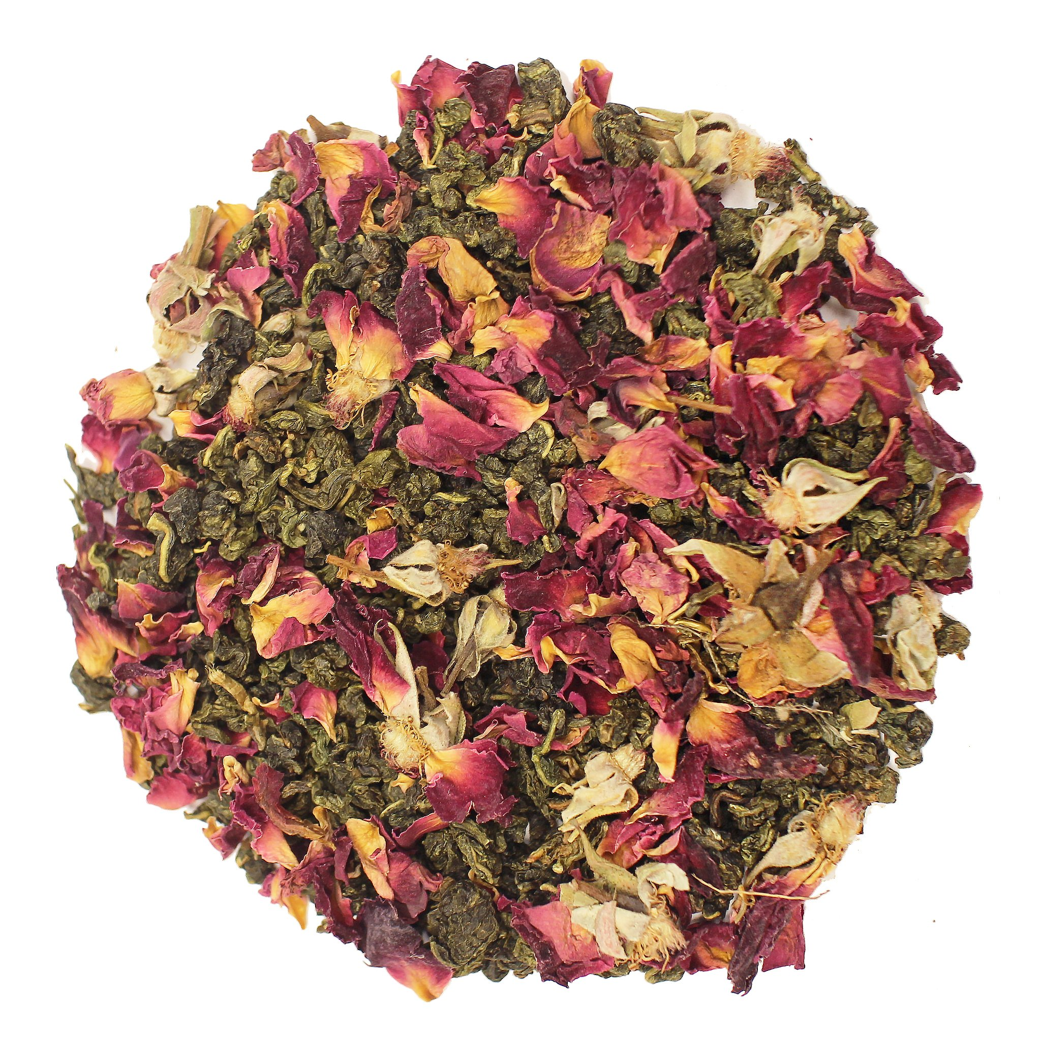 The Tea Farm - Rose Oolong Tea - Chinese Loose Leaf Oolong Tea (16 Ounce Bag) by The Tea Farm