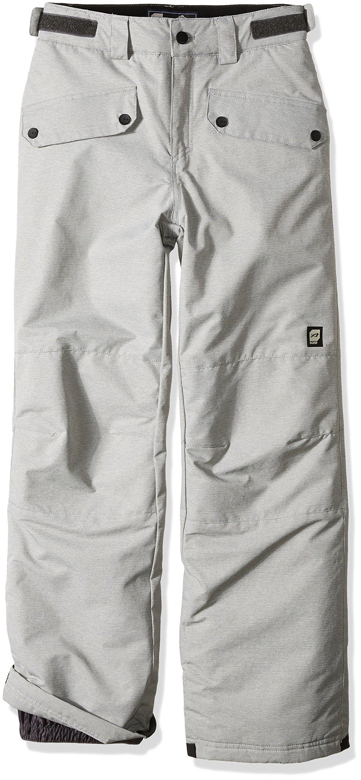 Orage Boys Tarzo Pants, Heather Grey, Size 14