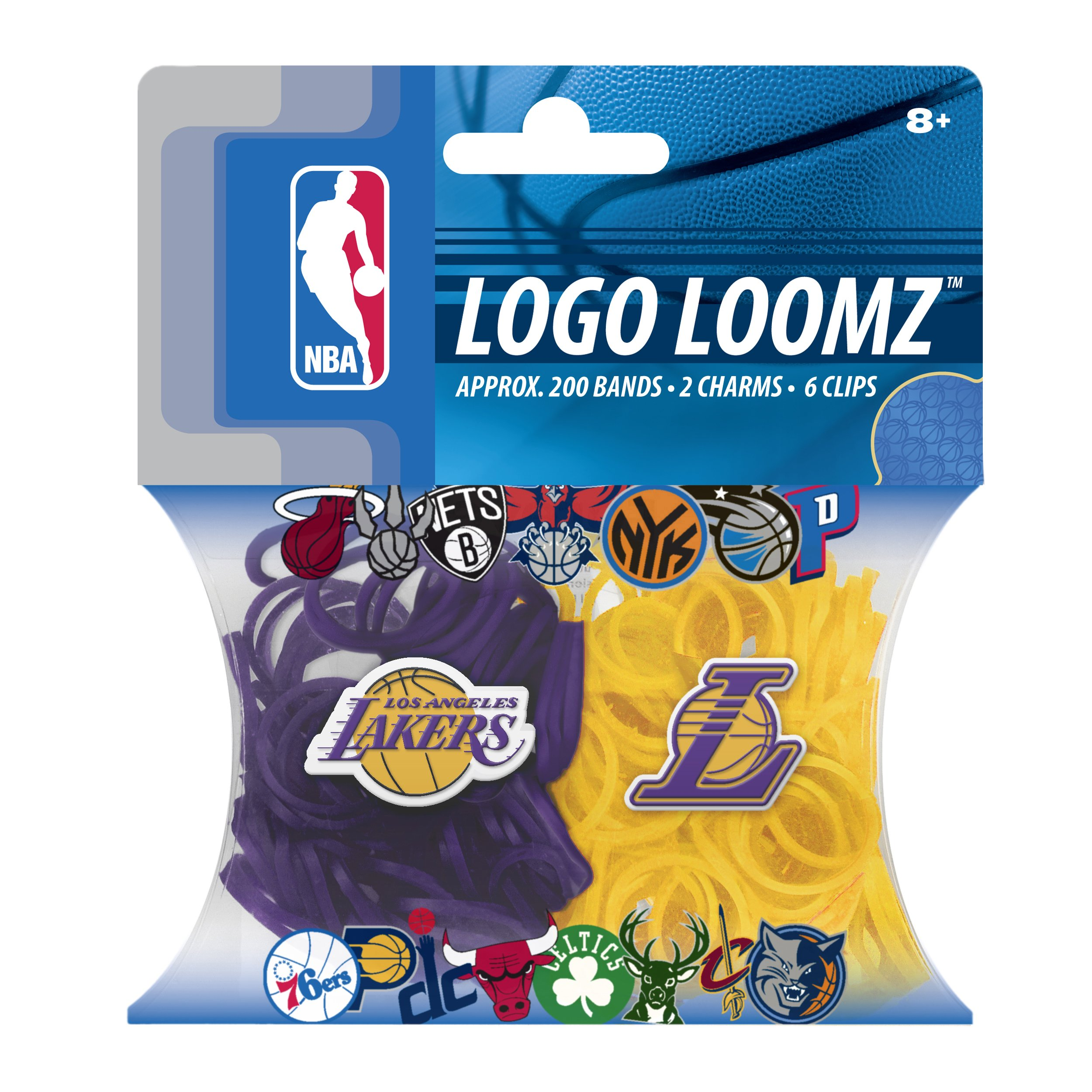 NBA Los Angeles Lakers Logo Loomz Pack