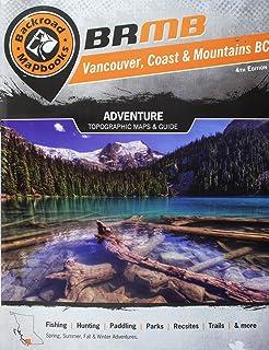 4th Edition Backroad Mapbook Thompson Okanagan BC