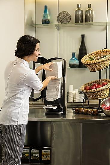 Tork Xpressnap 272213 Dispensador de servilletas vertical/Ideal para restaurantes/Sistema N4 / Gris claro: Amazon.es: Industria, empresas y ciencia