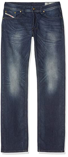 6e463e4a Diesel Men's Larkee-00c06q-0853r-29 Straight Jeans, Blue (Azul Oscuro