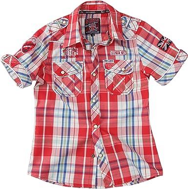 Geographical Norway - Camisa para niño, Talla 8 - Talla Francesa, Color Coral: Amazon.es: Ropa y accesorios