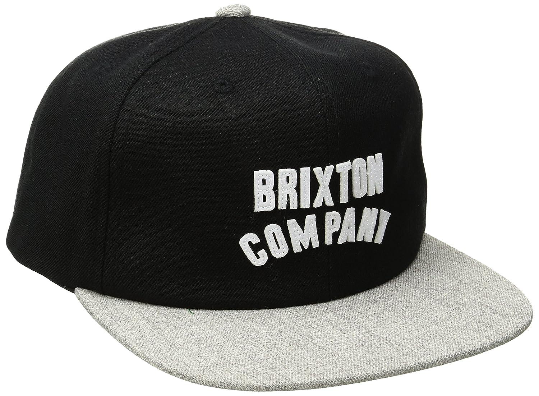 Brixton Wood Burn Snapback - Gorra para Hombre, Hombre, Woodburn ...