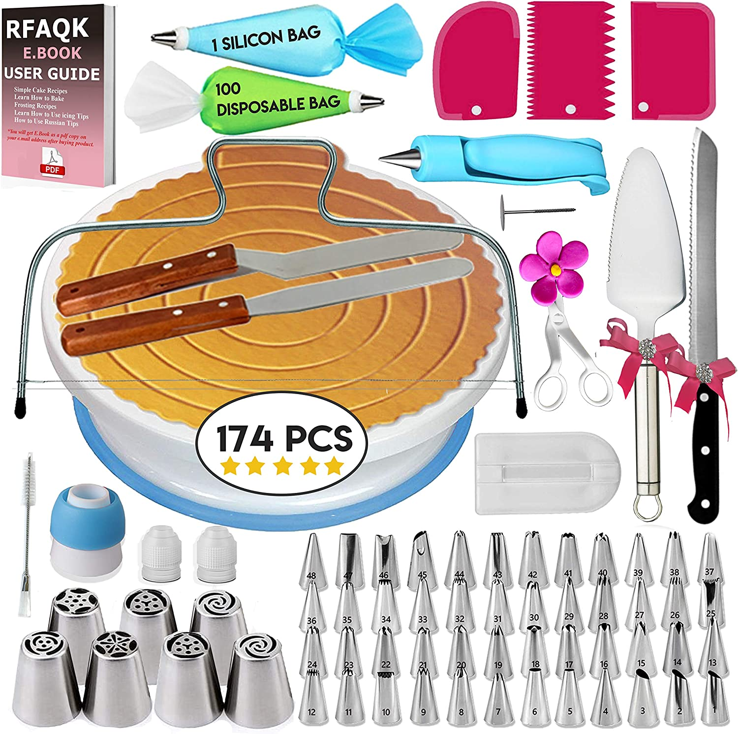 Cake Decorating Supplies Kit for Beginners