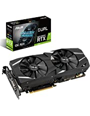 ASUS Dual GeForce RTX 2060 OC Edition Graphic Card (6 GB GDDR6 with NVIDIA Turing GPU Architecture DUAL-RTX2060-O6G)