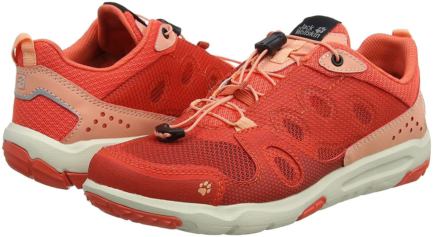 Jack (Hot Wolfskin Damen Monterey Air Niedrig W Cross-Trainer Orange (Hot Jack Coral) 391f2c