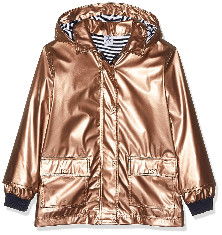 Or (Copper 01) 4 ans Petit Bateau Veste imperméable Fille