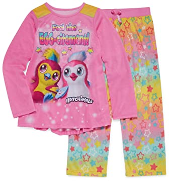 Hatchimals Girls Long Sleeve Pajamas 6-12 (XS (4/5))