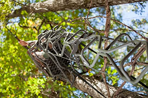 Summit Treestands The Vine Single Hunter Ladder Stand - unique curved camouflage design
