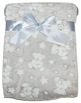 Baby Boy Girl Unisex Soft Fleece Wrap Blanket Pram Cot Crib Moses