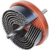 Size Fishyu 60-65mm M42 HSS Bi-Metal Broca de Corona Broca para Metal Madera Pl/ástico Cart/ón Yeso 65mm