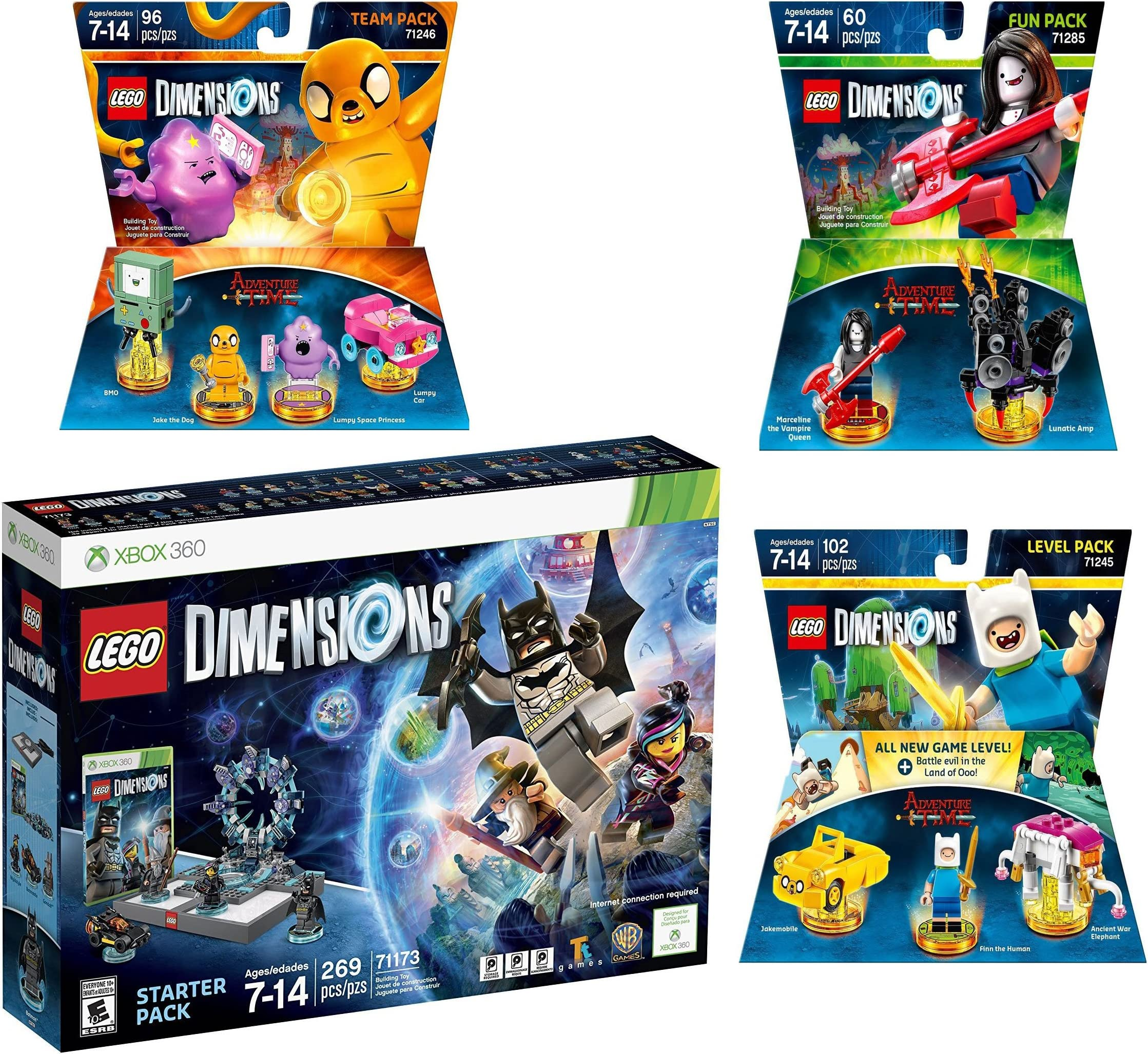 Amazon Com Lego Dimensions Starter Pack Adventure Time