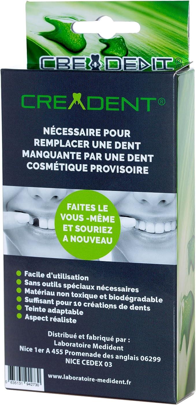 Kit para remplazar un diente faltante por un diente cosmético ...