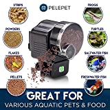 PELEPET Automatic Fish Feeder & Aquarium Feeder