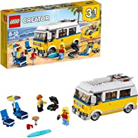 LEGO Creator 3-in-1 Sunshine Surfer Van Building Kit (379 Piece)