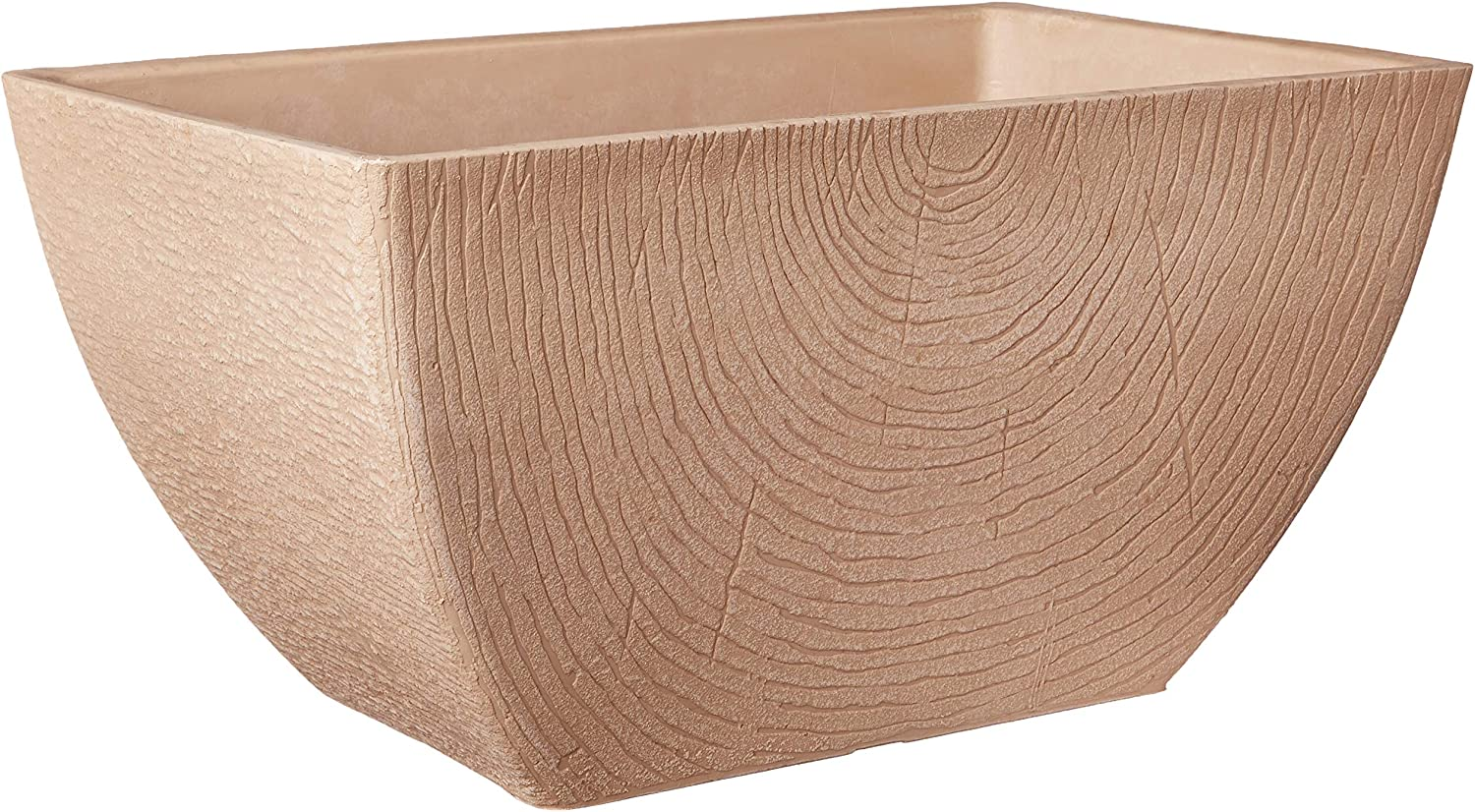 Arcadia Garden Products Q41B Concentric Window Box, 16 x 10.25 x 8.5 inches, Beige