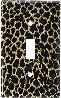 Art Plates   Leopard Print Switch Plate   Single Toggle