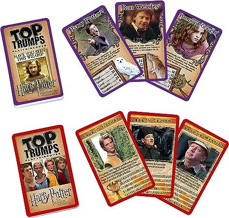 Top Trumps Harry Potter Gryffindor Maletín Coleccionista Juego de Cartas-versión en español (Winning Moves 10445): Amazon.es: Juguetes y juegos