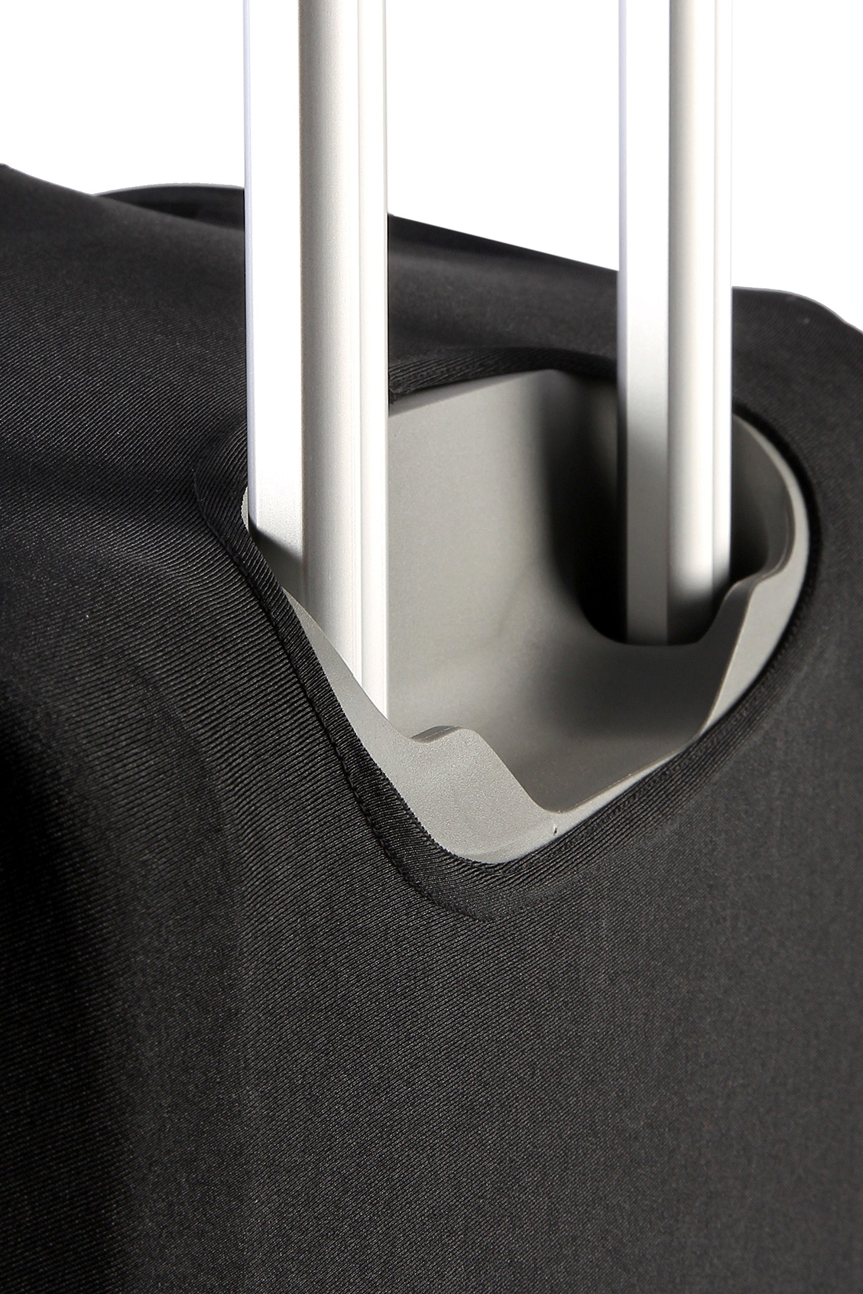 Travel Luggage Protective Cover - Stretchable Suitcase Protector Case, Black, 26 Inches by Juvale (Image #8)