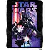 "Star Wars, Darth Night Micro Raschel Throw, 46"" x 60"""