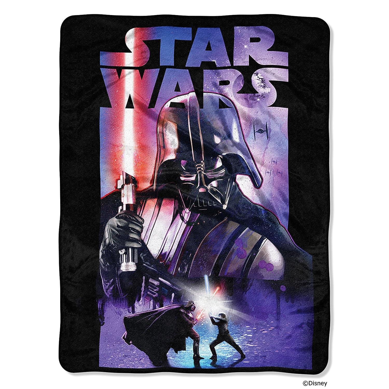 Star Wars: The Last Jedi, Chewie's Back Micro Raschel Throw Blanket, 46 x 60, Multi Color 46 x 60 The Northwest Company 1DSW059000022AMZ