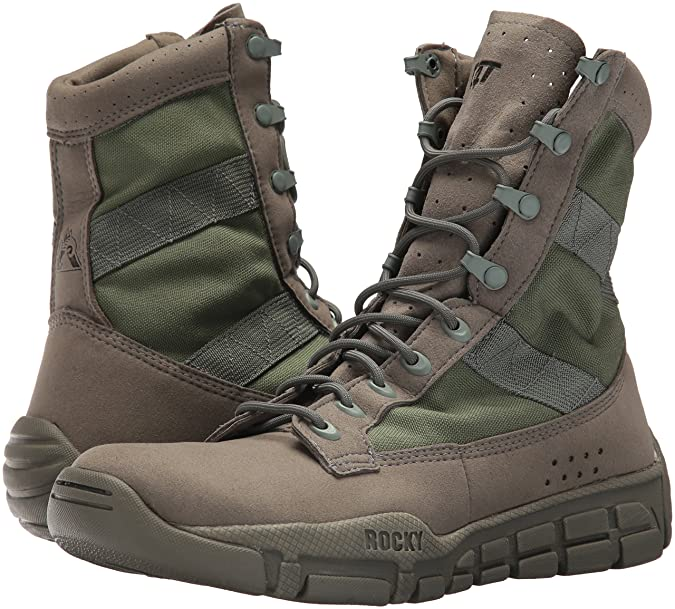 7ce66a1d8806b Amazon.com: Rocky Men's FQ0001073 Military and Tactical Boot, sage ...