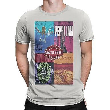 edaa4d5b1f78 Neckbreaker Tees Seattle's Best Grunge shirt Alice in Chains Nirvana  Soundgarden