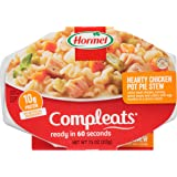 Compleats Hormel Microwave Meals Chicken Pot Pie with Noodles, 7.5 oz (Pack of 7)