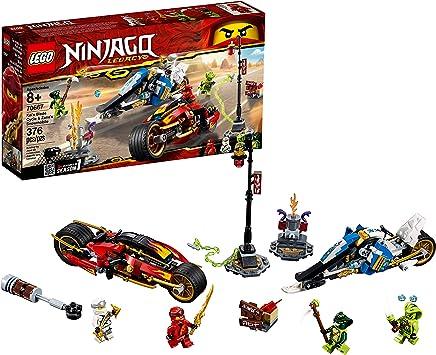Amazon.com: LEGO Ninjago Legacy Kais Blade Cycle & Zanes ...