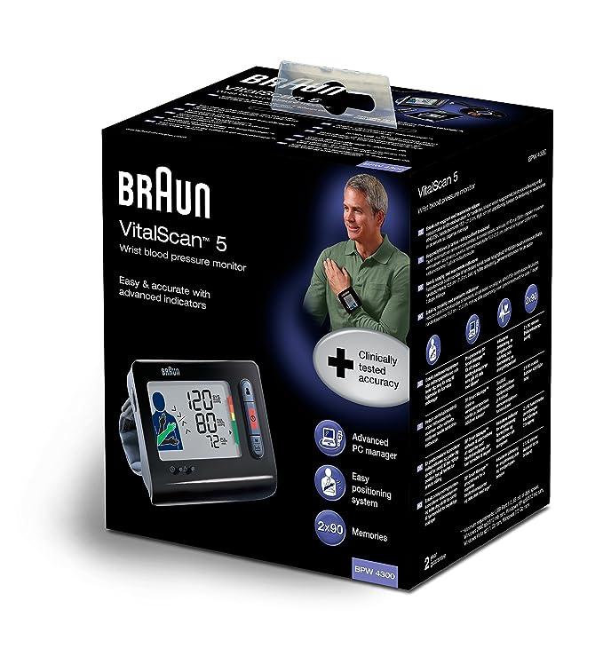 Braun TrueScan Plus - Tensiómetro de muñeca: Amazon.es: Salud y cuidado personal