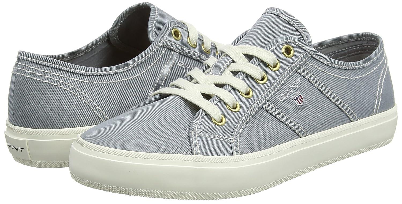GANT Damen Zoe Sneaker, (Windy Grau (Windy Sneaker, Gray) 1e0912